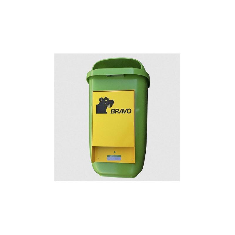 BRAVO Starter - Hundekotbeutel-Dispenser mit Abfallbehälter