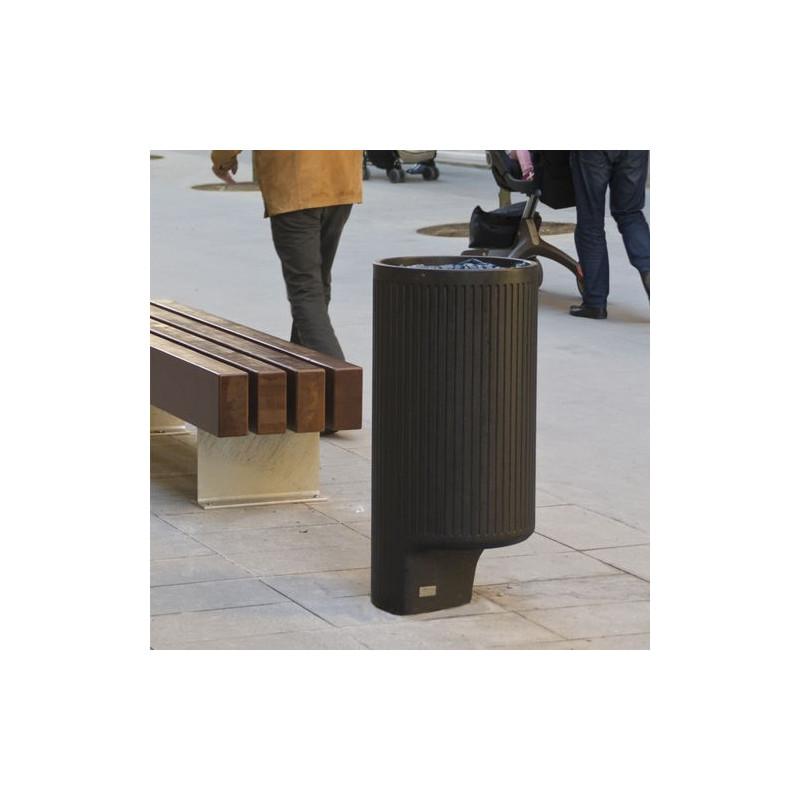 ROC - poubelle en béton