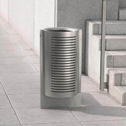 Gruss - poubelle en acier galvanisé