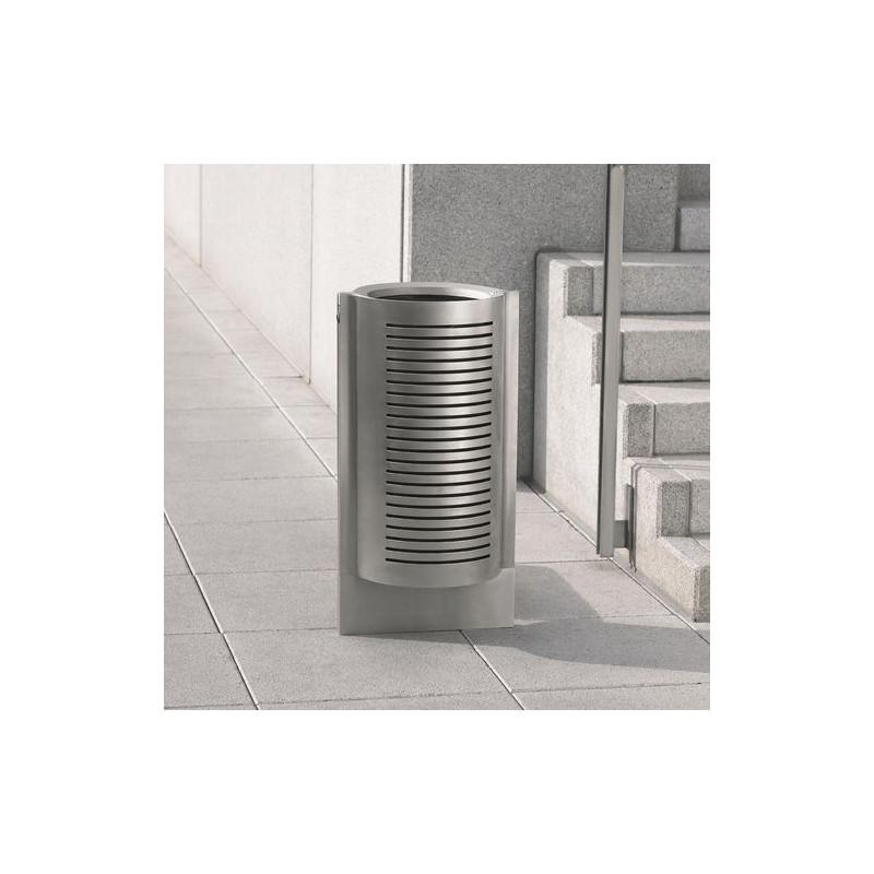 Gruss - Abfallbehälter aus verzinktem Stahl