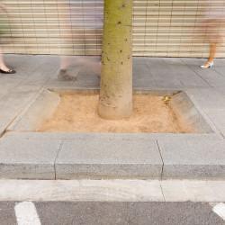 Ramla - Baumscheibe aus Beton