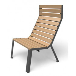 Easy - Stuhl - hohe Rückenlehne