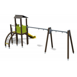 Play Tower & Swing