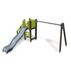 Play Tower & Swing Frame