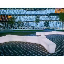 Twig Plástico- Bank/ Landschaftselement aus Kunststoff
