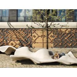 Lungo Mare - banc/ élément paysager en béton