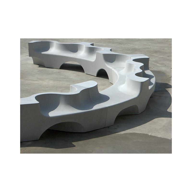Naguisa - Bank/ Landschaftselement aus Beton