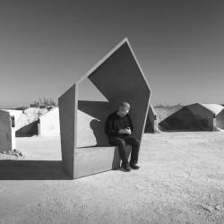 Domus - banc/ élément paysager en béton
