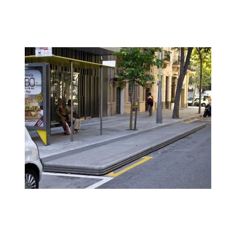 Plataforma Bus - Einstiegsplattform