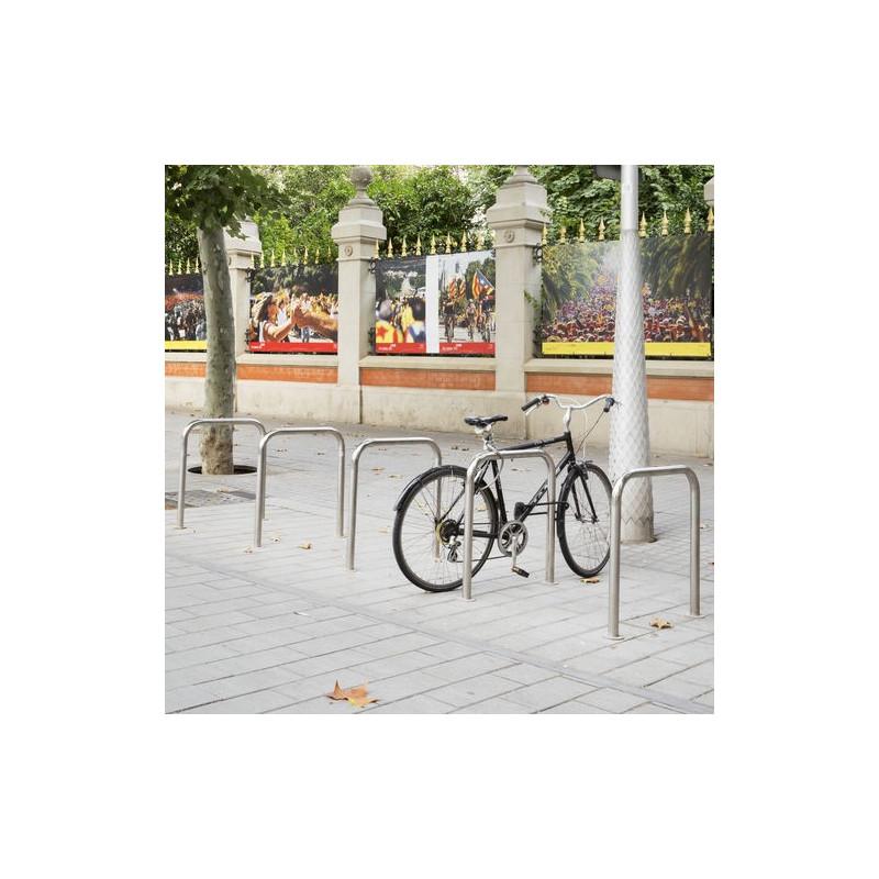 Bici N - râtelier en inox pour vélo