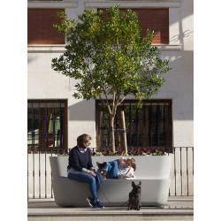 Binaria - Pflanzgefäss aus Beton