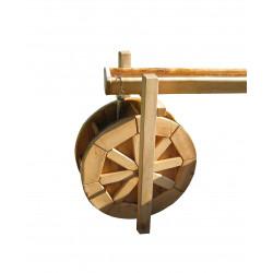 Goulotte pour roue hydraulique