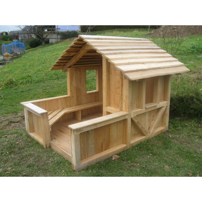 Maison de jeu Robin des bois avec plancher