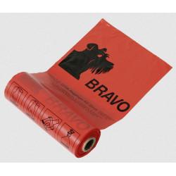 BRAVO Hundekot-Beutel Rolle, rot