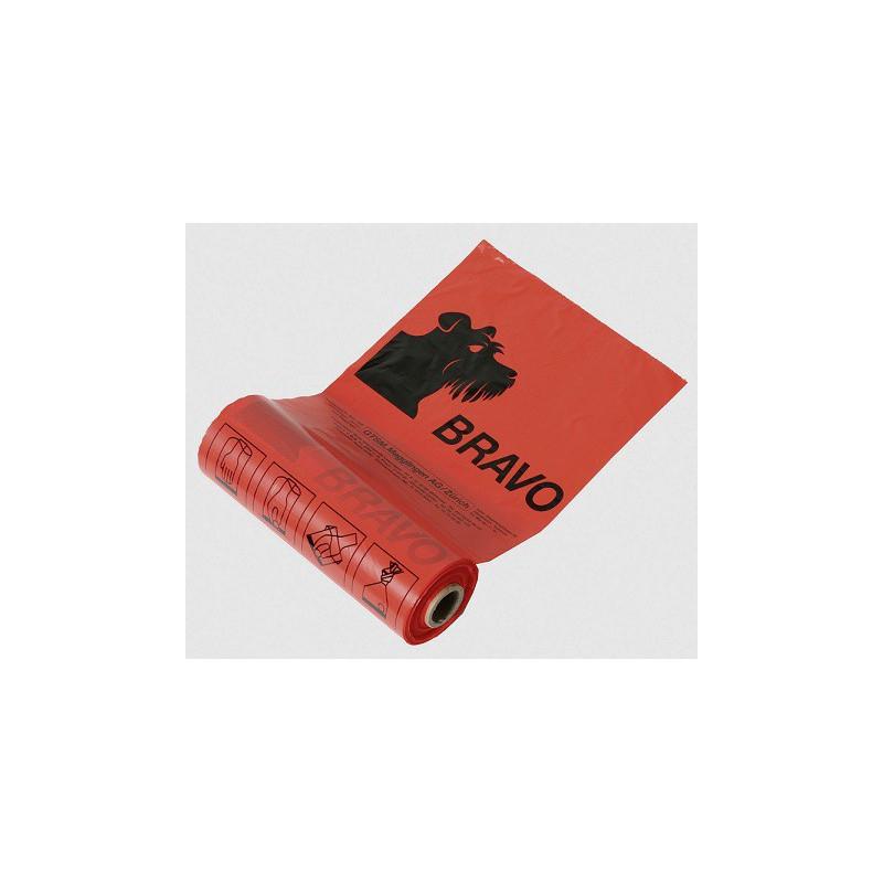 BRAVO Sachets en rouleau, rouge
