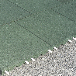 Fallschutzplatten - 5 cm/ grün