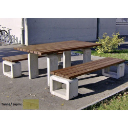 Lido table - sapin