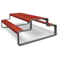 miramondo Outline - Combinaison bancs/ table