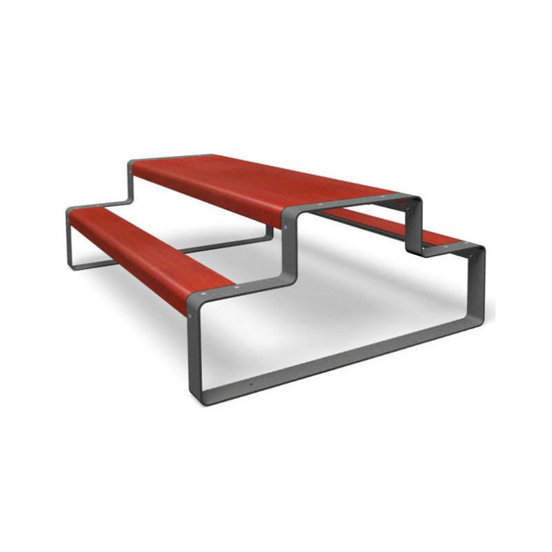 miramondo Outline - Combinaison bancs/ table