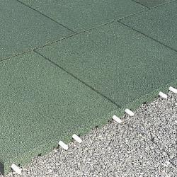Plaques de protection de chutes - 3 cm/ vert