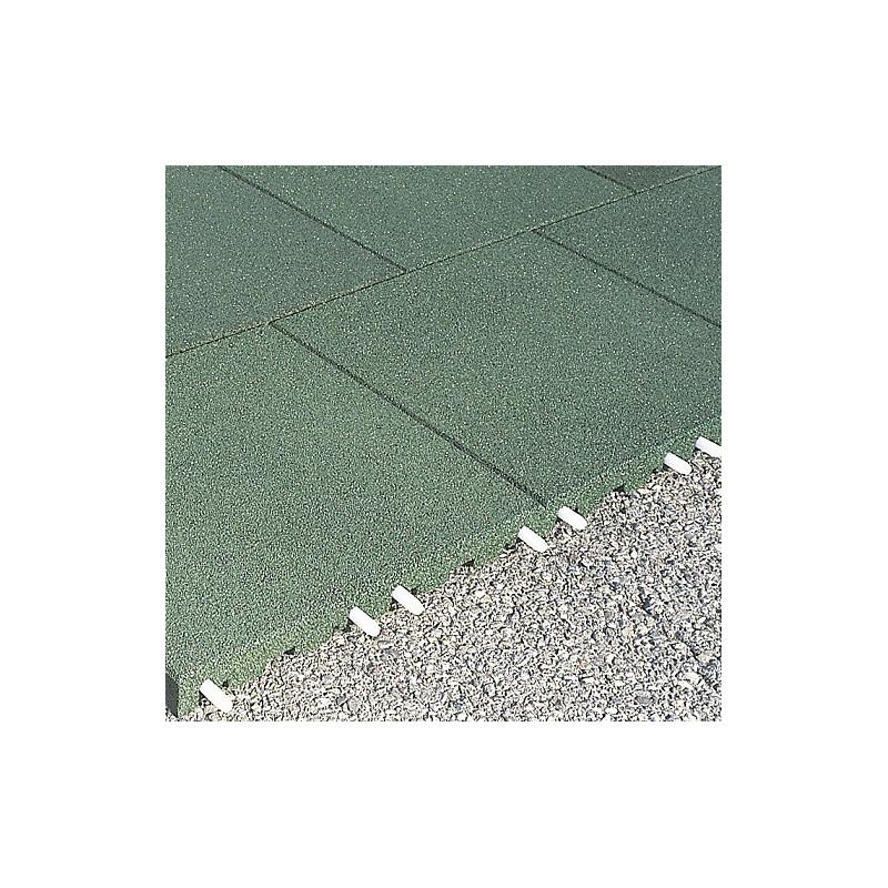 Plaques amortissantes anti-choc - 3 cm/ vert