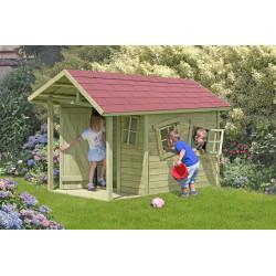 Andy Crazy - Spielhaus aus Holz