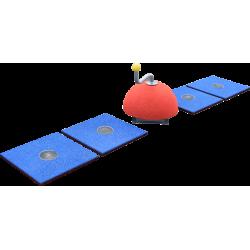 Hüpfspiel - Game Floor - Spielgerät