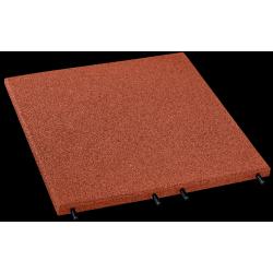 Fallschutzplatten - 3 cm/ rot