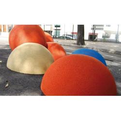 Halbkugel aus Gummigranulat - Spielgerät