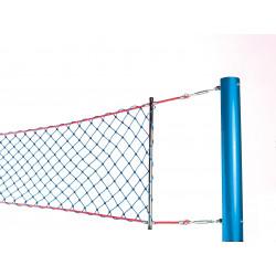 Poteaux en acier pour filet de Volleyball