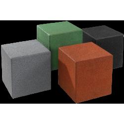Cube en granulés de caoutchouc