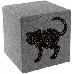 Würfel mit Motiv Katze