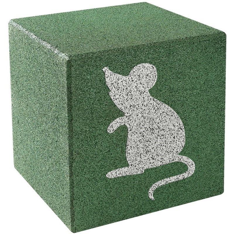 Cube avec motif - souris
