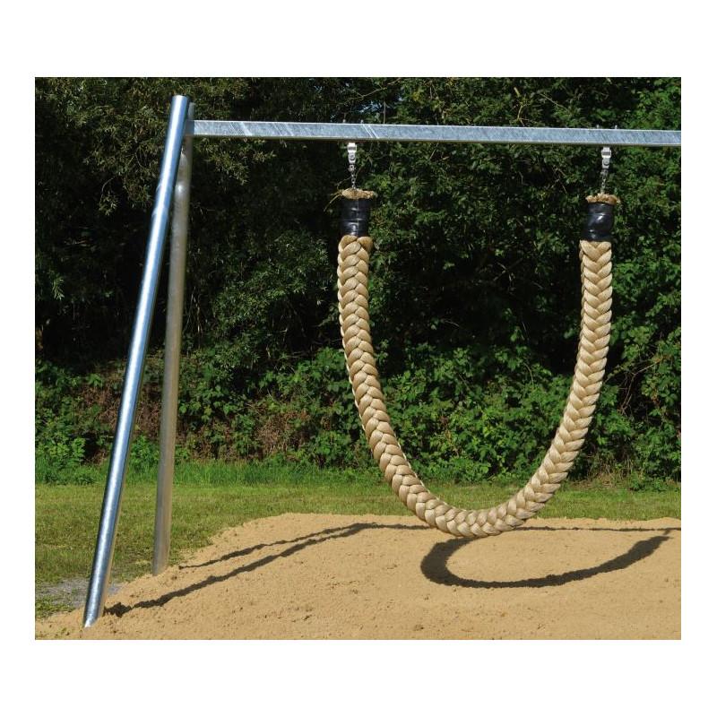 Balançoire en corde