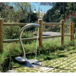 modo Lilla - Trinkbrunnen aus Edelstahl