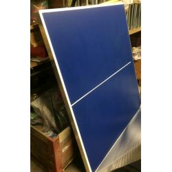 Tischtennistisch blau ohne Netz