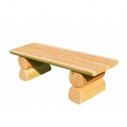 Banc rustique en bois pour enfants