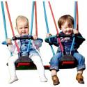 Mini-Schaukel Robinie mit Kleinkind-Doppelsitz
