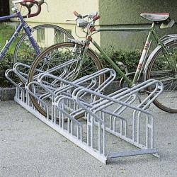 Vis-à-vis râtelier à vélos