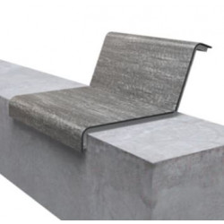 miramondo Il Posto L-60 - lattage sur mur avec dossier