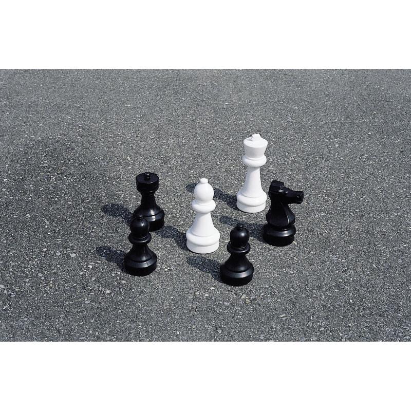 Figures de jeu d'échecs petit jardin Mini