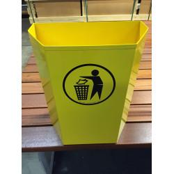 Abfallbehälter Hexahalf