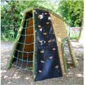 Kleine Kletterhöhle - Robinienholz