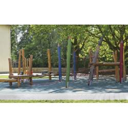 """Parcours d'équilibre """"Les crayons de couleur 1"""""""