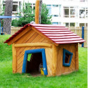 Zwergenhaus - Robinienholz