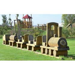 Kleine Eisenbahn - Robinienholz