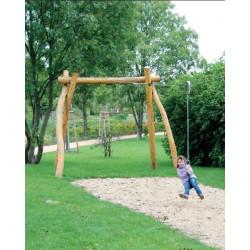 Seilbahn ohne Rampe - Robinienholz