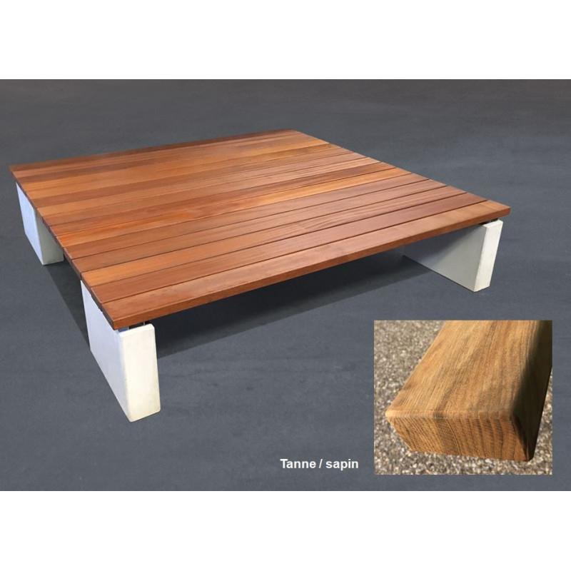 GTSM Quadro Sapin - banc-couchette d'extérieur
