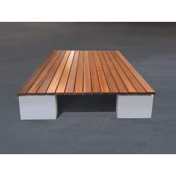 GTSM Quadro Sipo - banc-couchette d'extérieur