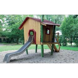 Spielhaus auf Stelzen - Robinienholz SIK